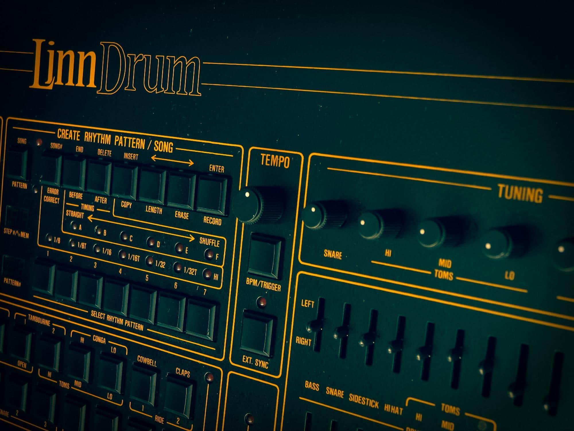 Linn Drum by Steve Harvey