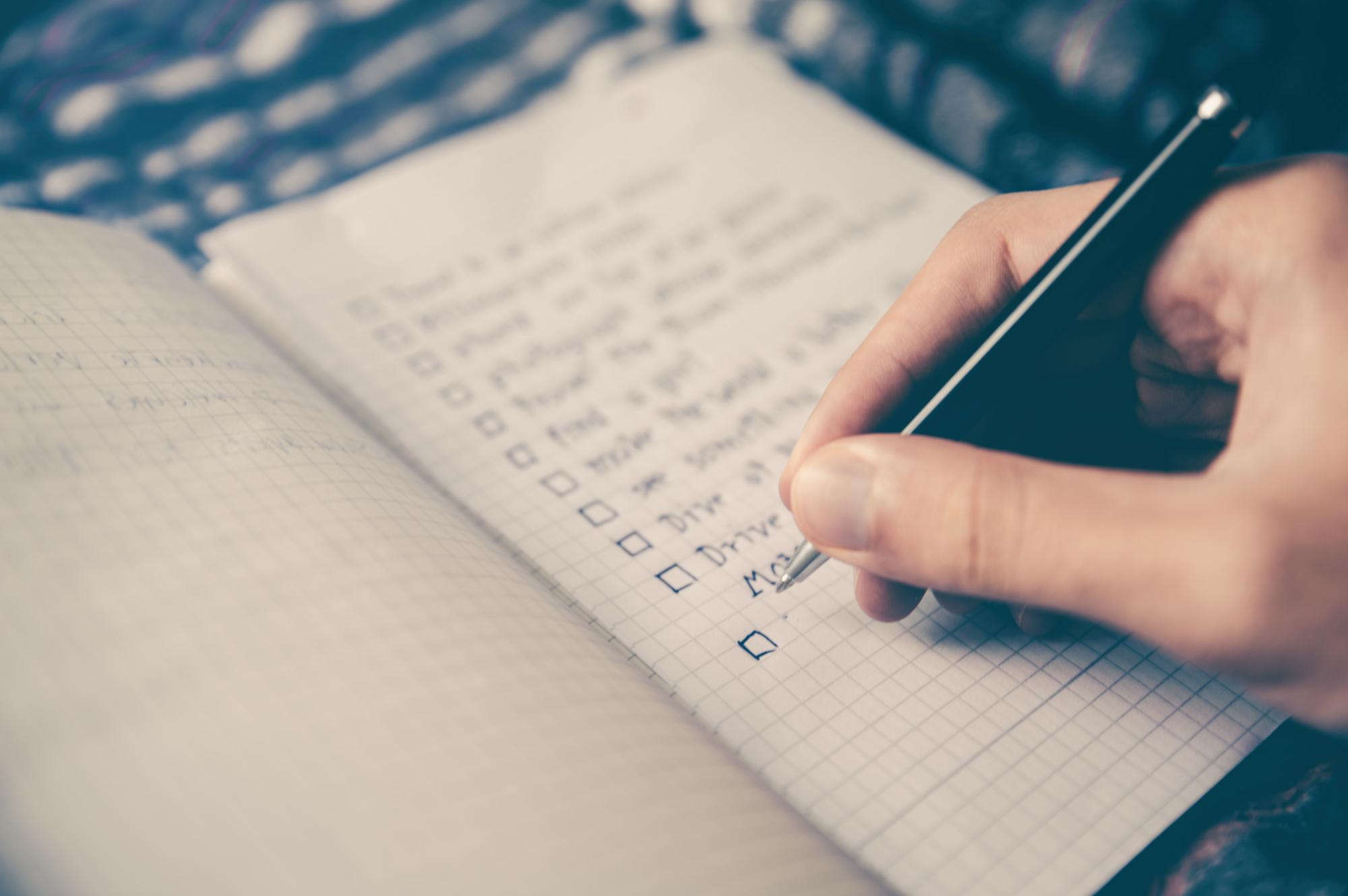 If you have a little bit of time left, how about start writing your own bucket list by Glenn Carstens-Peters