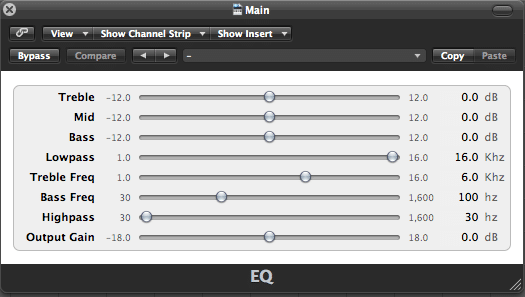 Airwindows EQ plugin