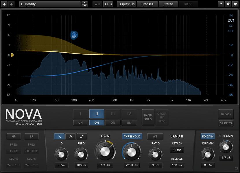 TDR Nova plugin interface