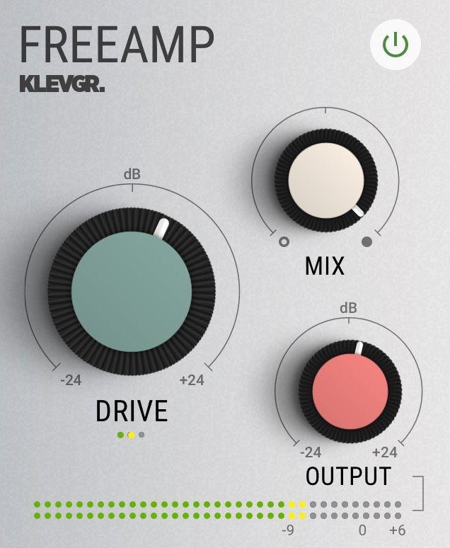 Klevgrand Freeamp plugin interface