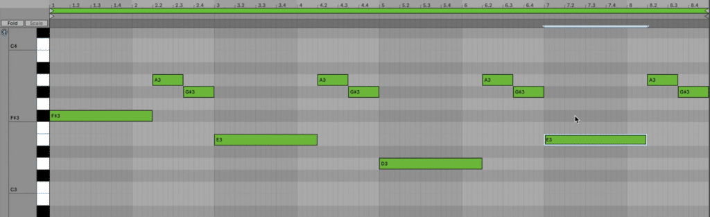 808 pattern melodic