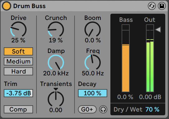 Ableton Drums Buss