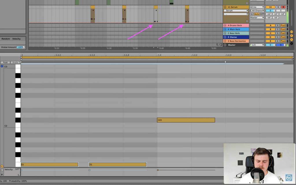 Copying deth reese MIDI