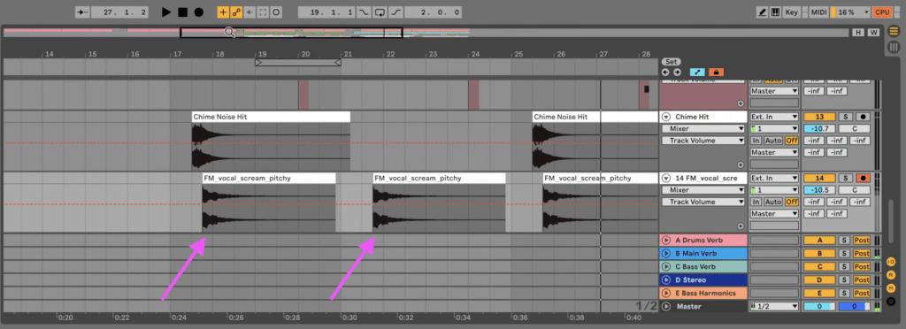 Background vocal sample