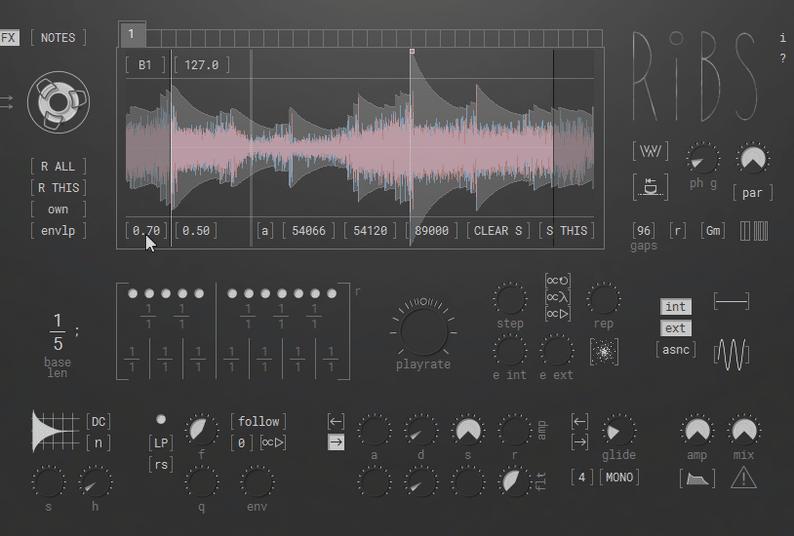 Hyova Audio Ribs